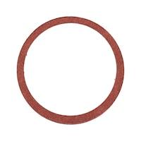 Sealing ring, vulcanised fibre, shape A