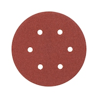 Wood dry sandpaper disc KP perfect