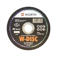 W-DISC VÁGÓTÁRCSÁK ACÉLHOZ