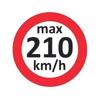 Наклейка с указанием скорости для зимн.шин