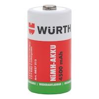 Ön şarjlı NiMH batarya