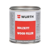 Retouching putty Wood filler