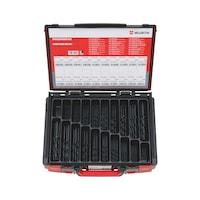 HSS 麻花钻,DIN 338 标准,RN 型组套,155 件,Syscas