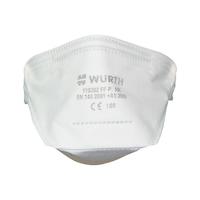 P1 katlanabilir solunum maskesi Ventilsiz
