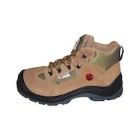 S1-P Boğazlı İş Güvenliği Ayakkabısı - Süet Bej