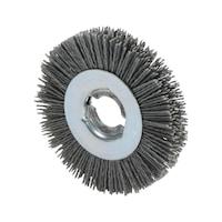 Grinding-bristle brush