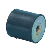 Rubber/metal buffer Type C - C2C