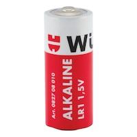 Alkaline batteri, LR1