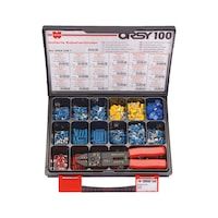 Insulated cable connector assortment
