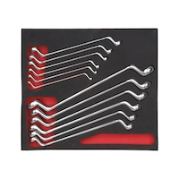 Double-end box wrench assortment