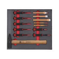 Striking tool assortment