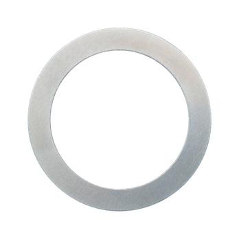 Afstandsh., blank staal, tolerantie vlgs DIN 522