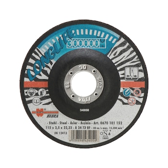 Cutting disc, bonded