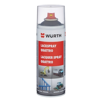 Spraymaling Quattro