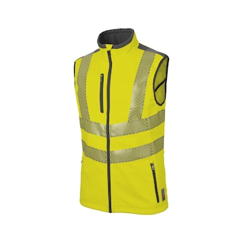 Neon high-visibility vest