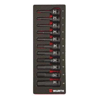 Systemsortiment 2.4.1, krafttopnøgle, indvendig sekskant 1/2
