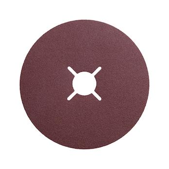 Disco fibrato vulcanizzato in corindone sintetico