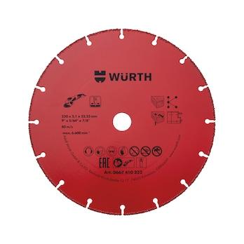 BO22,2-D230MM Doorslijpschijven met hardmetalen coating