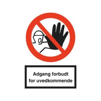 Forbudsskilt