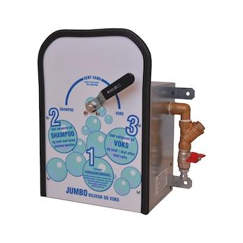 Automatisk doseringsapparat til vaskeprodukter