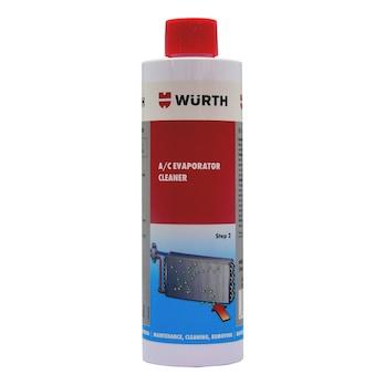 エアコンエバポレーター洗浄剤 ステップ2 :洗浄