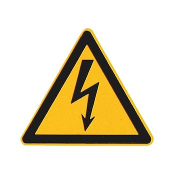 Advarselsskilt – Farlig elektrisk spænding