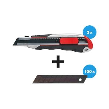 Set de couteaux 3K avec manche et lames tranchantes 102 pièces