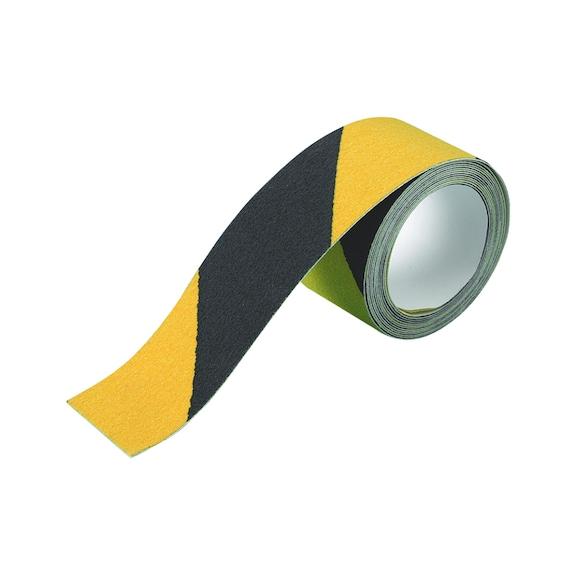 Ruban antidérapant - Bandes anidérapantes jaune et noire