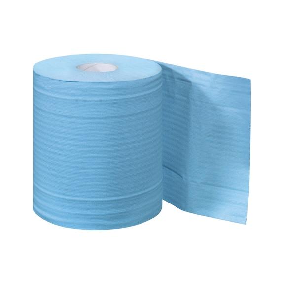 Bobine d'essuyage ouate recyclée chamois - 1