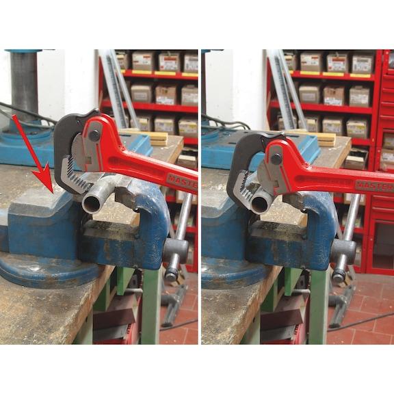 Alicate para tubos, fecho automático, punho mestre - 2