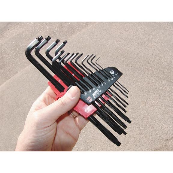 Stiftsleutels, set  TX - 0