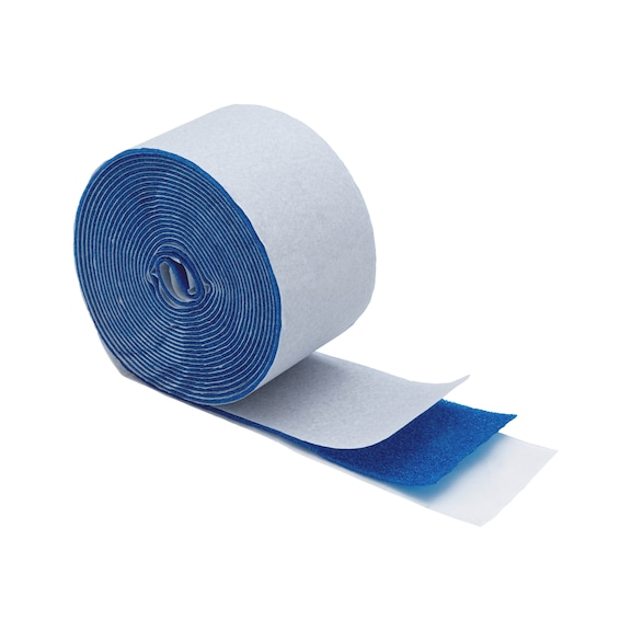 Klebstofffreies Pflaster blau Elast latexfrei - PFLASTER-LATEXFREI-ELAST-BLAU-3X450CM