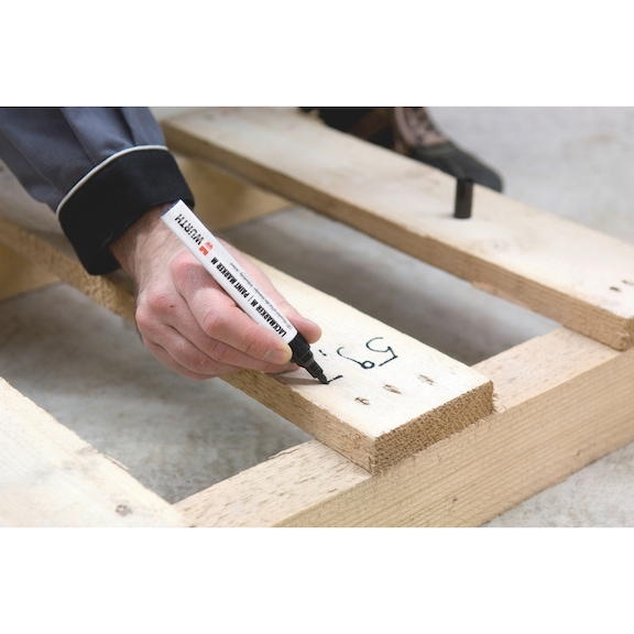 Marcador de tinta - MARCADOR LACAGEM 1000 BRANCO 2-4MM