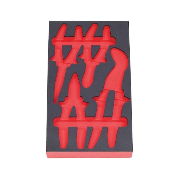 Foam insert for pliers assortment - FMINRT-(0965900600)