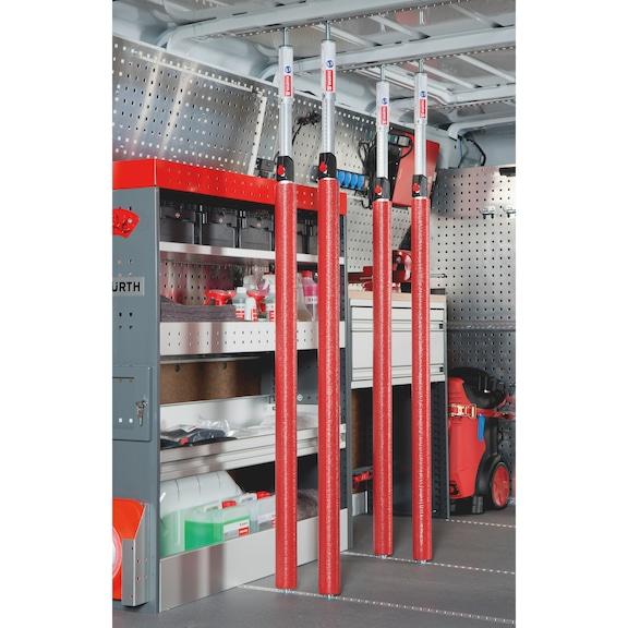 Aluminium-Spannstangen-Set