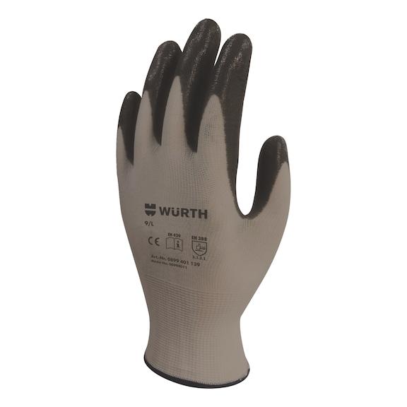 İş Güvenliği Eldiveni Mekanikçi Siyah 9