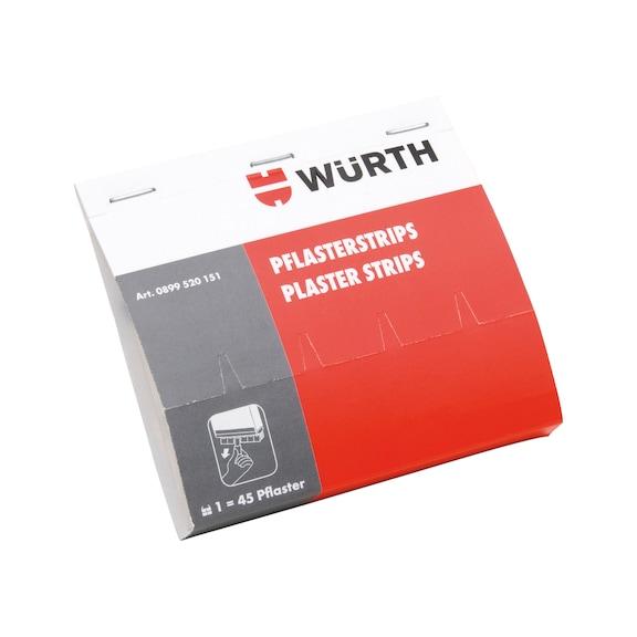 Genopfyldningspakke med plastre - Refill til plasterdispenser