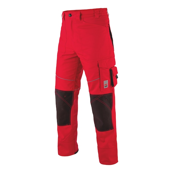 Pantalons STARLINE<SUP>®</SUP> Plus - PANTALON STARLINE PLUS ROUGE/NOIR T44