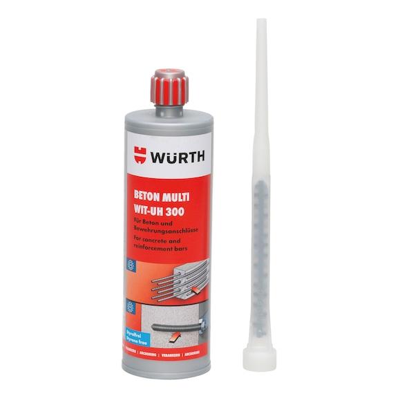Chemická injekční malta do různých betonů WIT-UH 300 - CHEMICKÁ KOTVA WIT-UH 300-420ML