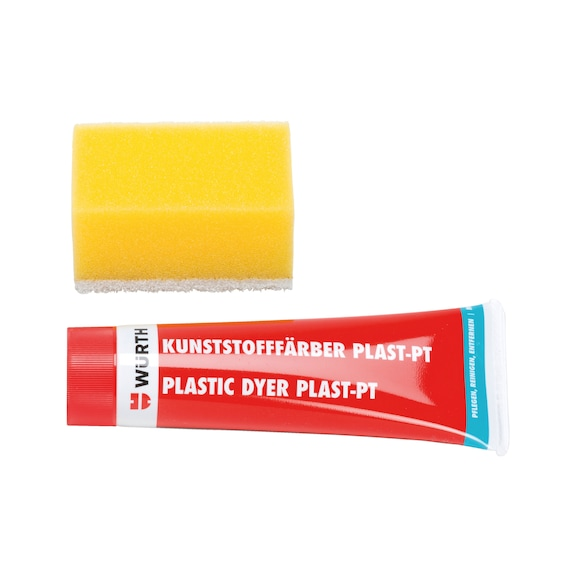 Tinta plástica Plast PT<SUP>®</SUP> - PLAST-PT PRETO