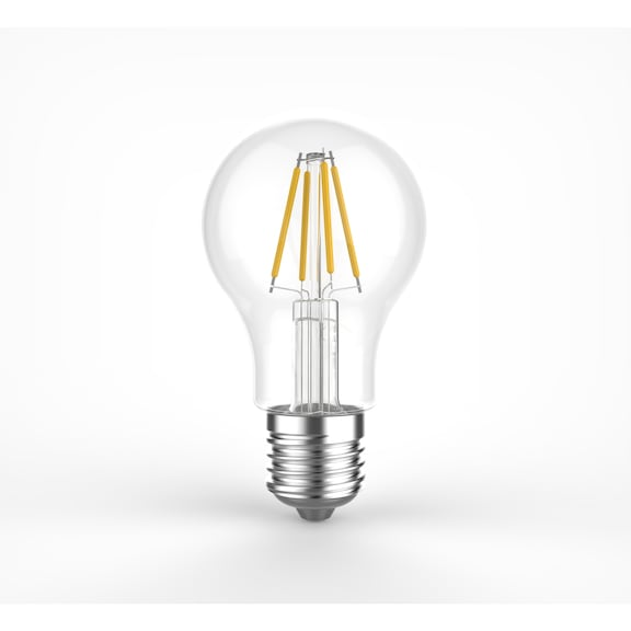 Ampoule LED à filament visible E27 type RETRO - LAMP LED FILA. E27 4W 2700K 470LM