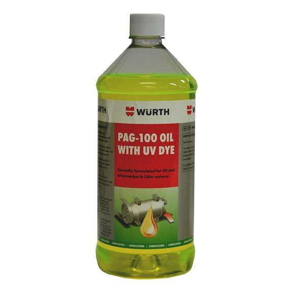 PAG Oil 100 with U/V Dye - 236ML
