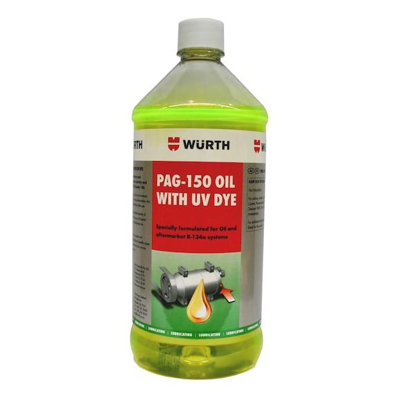 PAG Oil 150 with U/V Dye - 946ML