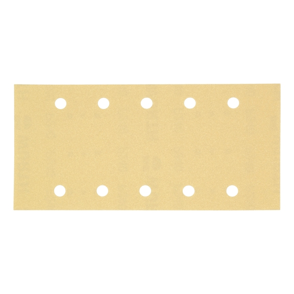 Vehicle dry sandpaper strip - 10HO P80 115X230MM