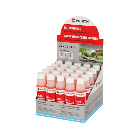 Windscreen cleaner Flash cleaner in display carton - 1