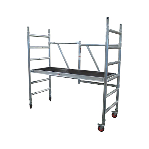 Buy Folding scaffold Complete with wheels and platform ...