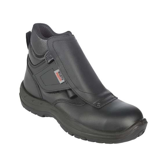 7782791a46 Vysoká bezpečnostná obuv pre zváračov ...
