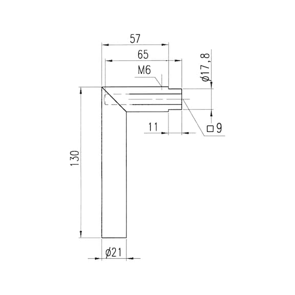 Декоративная накладка A 505 - DH-A2-A505-ROS-WC-L/R-MATT