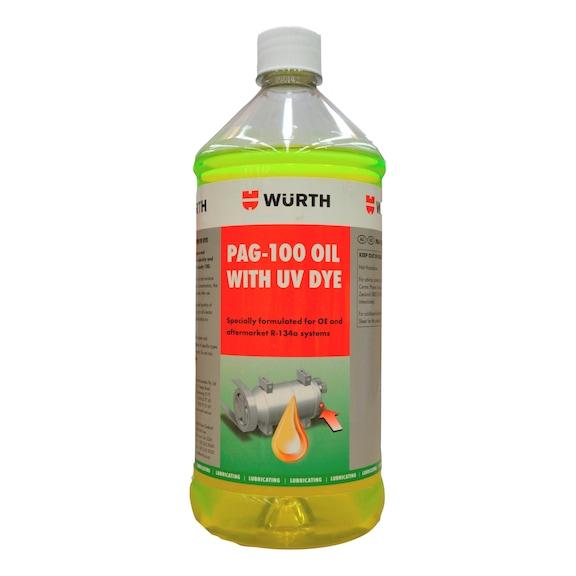PAG Oil 100 with U/V Dye - 946ML