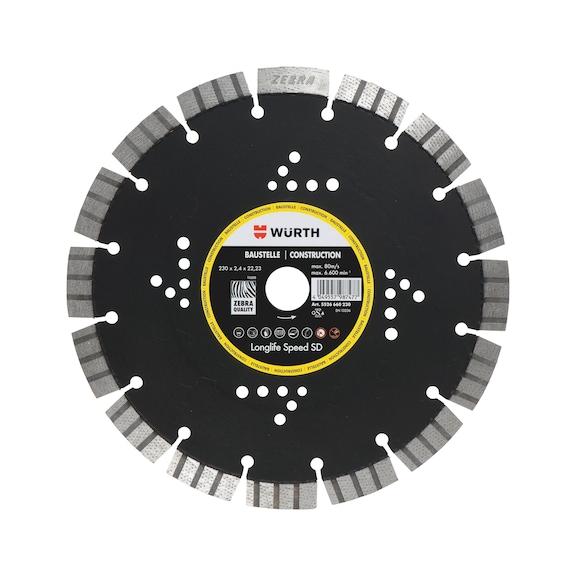 Diamanttrennscheibe Longlife & Speed SD Baustelle - 1